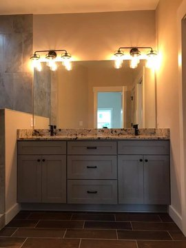 Florence Cabinets Bathroom Double Vanity